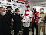 KPU Tetapkan Nina Agustina-Lucky Hakim Menjadi Bupati dan Wakil Bupati Indramayu Terpilih