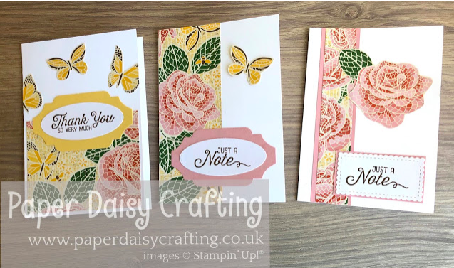 Nigezza Creates with Stampin' Up! & friends The Project Share 2nd April