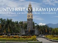 Cara Pendaftaran Online UB 2018/2019