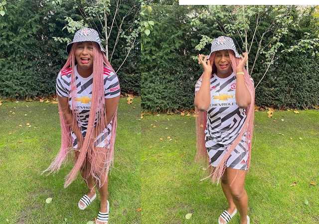 So Hilarious! Check Out DJ Cuppy's Reaction After Man U Was Beaten By Arsenal