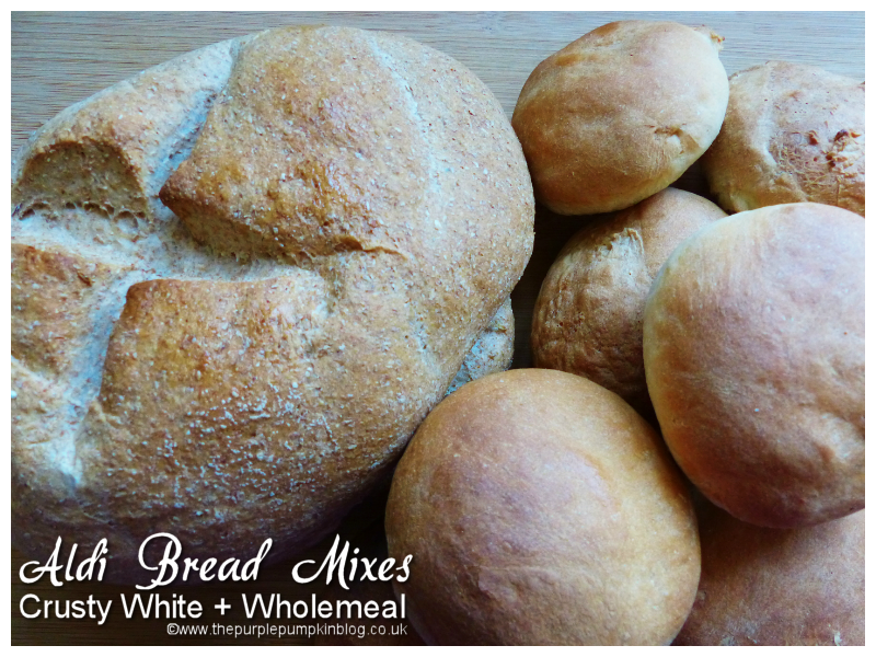 Baking with Aldi Bread Mixes