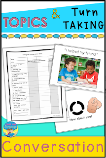 Build turn taking skills for conversation with loads of fun activities and printables!