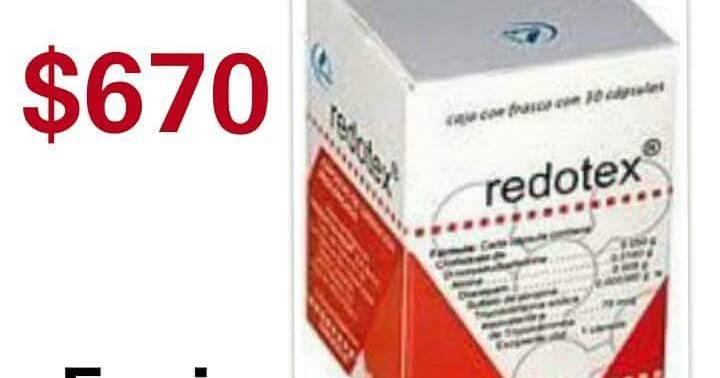 redotex medicamento para bajar de peso