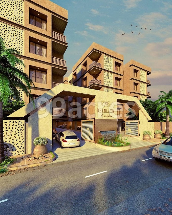 धनलक्ष्मी एविटा प्रोजेक्ट सूरत के मगदल्ला इलाके में धनलक्ष्मी डेवलपर द्वारा। Dhanlaxmi Evita Project By Dhanlaxmi developer in Magdalla area of Surat.