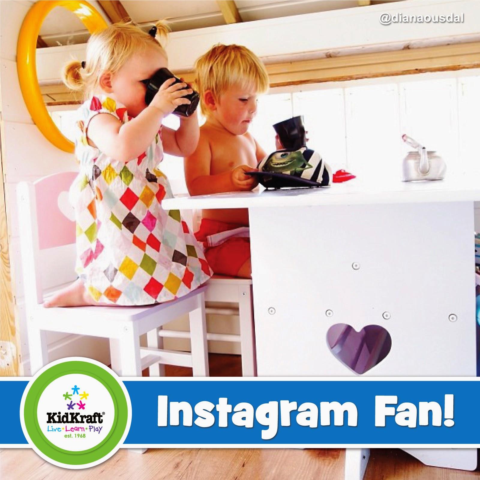 KidKraft Toys  Furniture Instagram Fan Heart Table  2