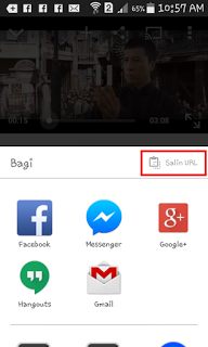 Cara Ampuh Download Video YOUTUBE Di Andorid Dengan Mudah Tanpa Aplikasi