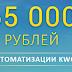 65 000 рублей на автоматизации Kwork – Отзывы? PlayDengi