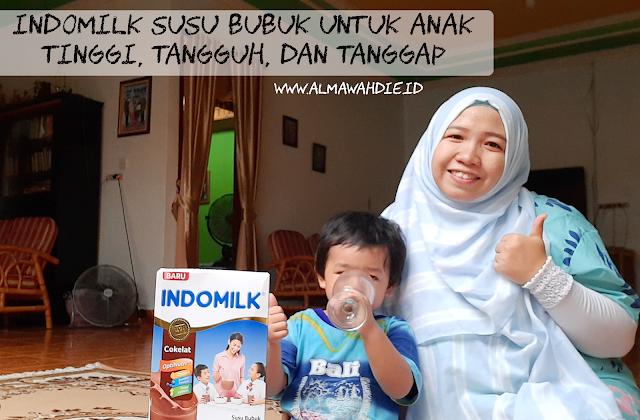 Indomilk susu bubuk untuk anak