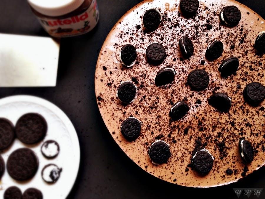 Pastel Queso, Nutella Oreo