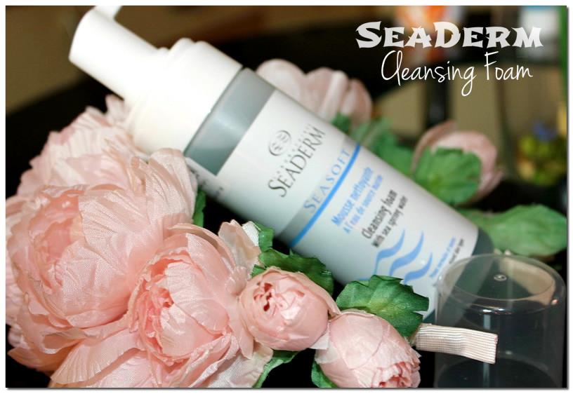 Отзыв: Очищающая пена с морской ключевой водой для нормальной и комбинированной кожи - Seaderm Face Range Cleansing Foam.