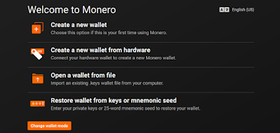monero create new wallet