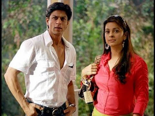 bollywood friendships, shahrukh and juhi