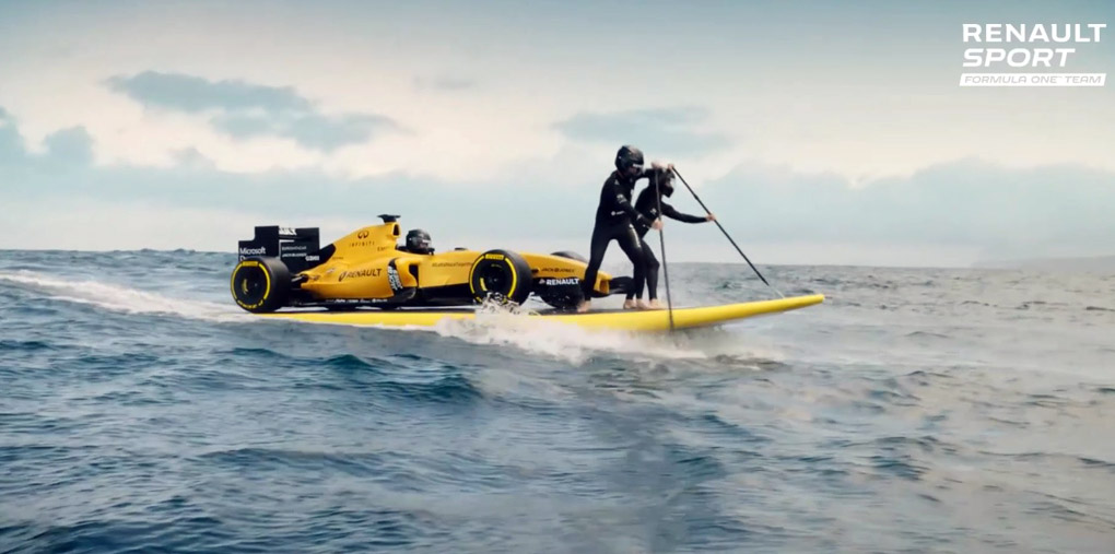 Renault F1 2016 video