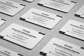 Contoh desain kartu nama bisnis