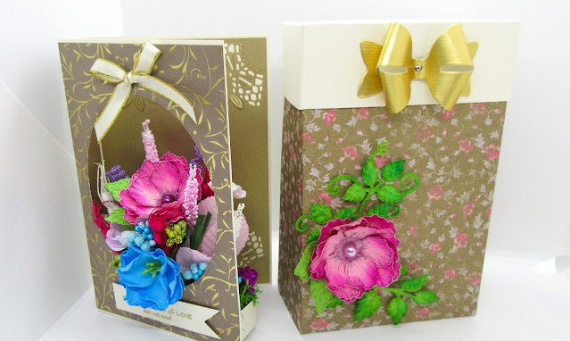 3d flower card tutorial