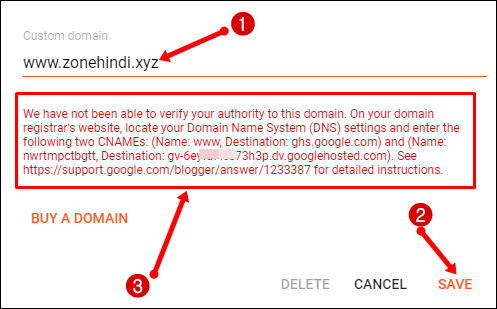 add-custom-domain-with-www-in-blogger