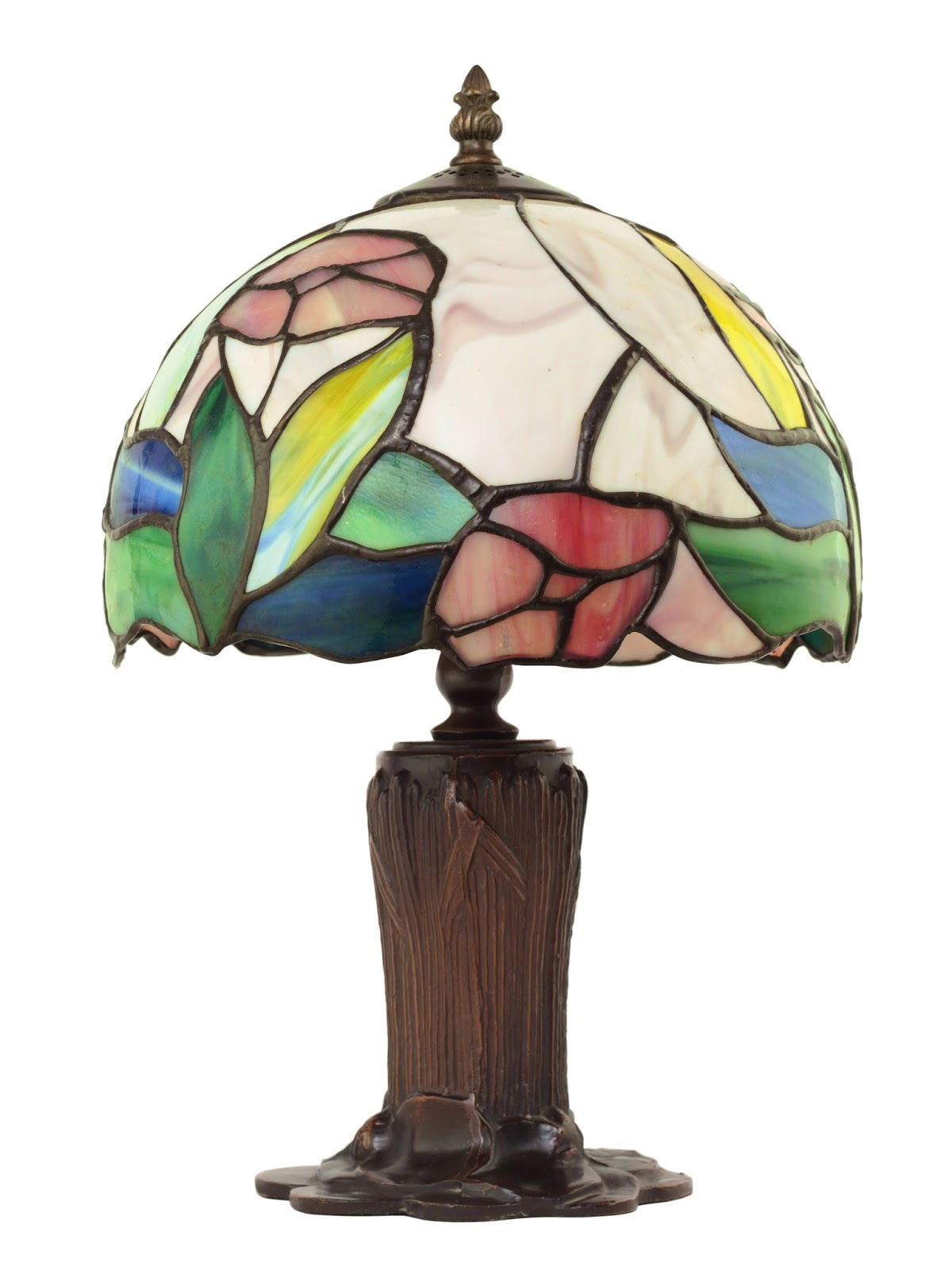 A Genuine #Tiffany Lamp In Silence Of The Lamps By Karen Rose Smith