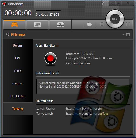 Download Bandicam 3.0 Terbaru Full Version