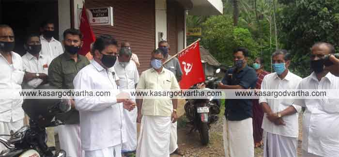March and dharna to protest against anti-farmer policies of the central government
