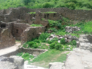Various rooms at Bhangarh Palace