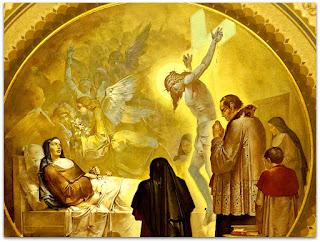'Teresinha no Leito de Morte', Aldo Locatelli (1957), Igreja Santa Teresinha