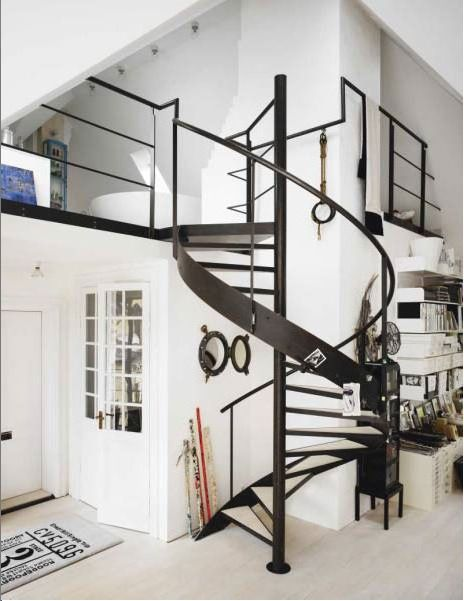 staircase design for duplex house