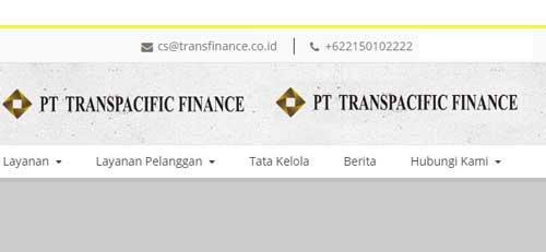 nomor kontak dan email transpasifik finance