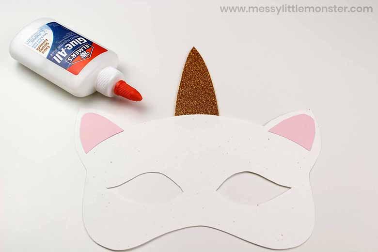 how to make a unicorn mask
