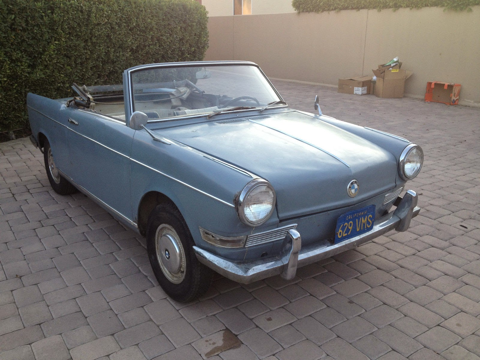 BMW Palm Springs >> Baurspotting: 1963 BMW 700 Convertible By Baur! For Sale!