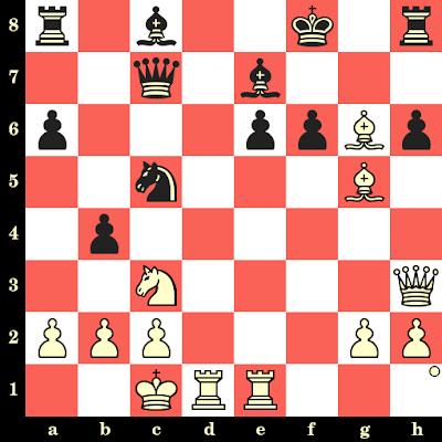 Les Blancs jouent et matent en 4 coups - Terje Wibe vs Alberto Mascarenhas, Gausdal, 1987