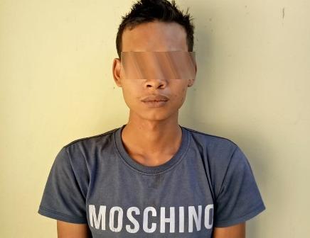 Satreskrim Polsek Sekincau Tangkap 1 Pelaku Pencuri Barang Rumah Kosong