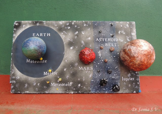 asteroid 3d models school project - photo #15