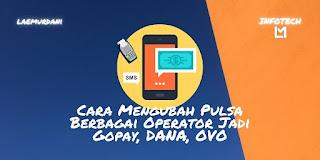 CARA MENGUBAH PULSA XL, TELKOMSEL, INDOSAT