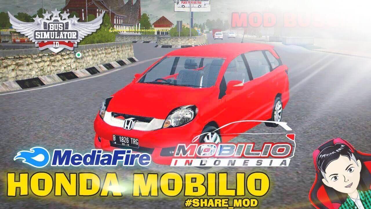 Mod Bussid Honda Mobilio Car