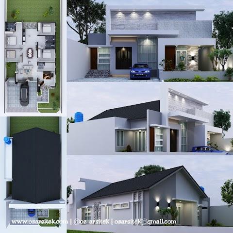 Desain Rumah Ibu Rully di Tangerang