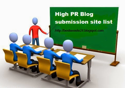 Blog Submission Directory Sites - Best Seo sites