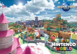 Super Nintendo World, Universal Studios Japan divulga imagem promocional do parque temático