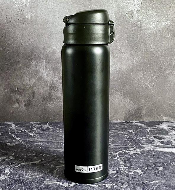 Black coffee drinking bottle