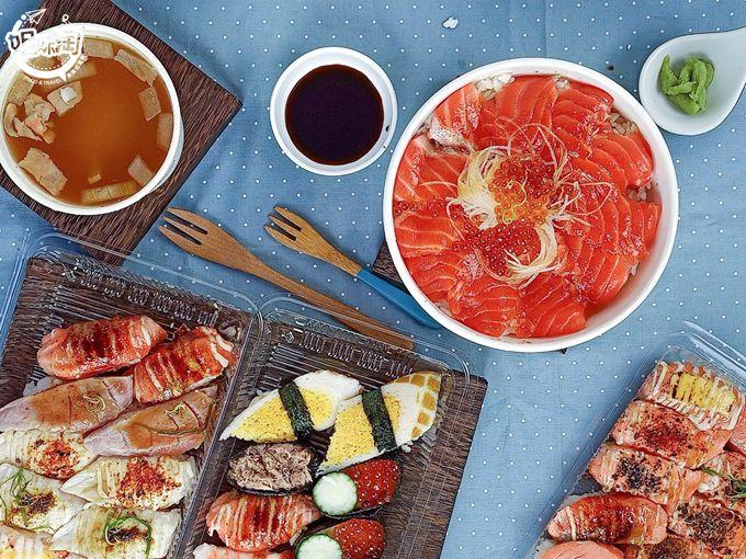 赤焰燒燙;熾紅鱻魚-趁鱻壽司
