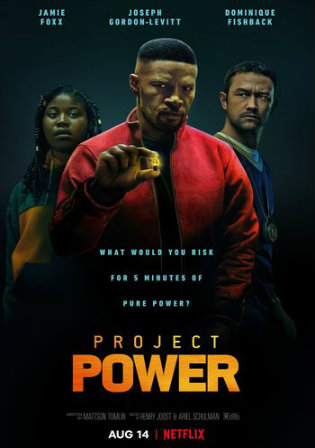 Project Power 2020 WEB-DL 400Mb Hindi Dual Audio 480p