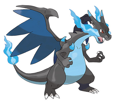 Mega Evolution - Mega Charizard X