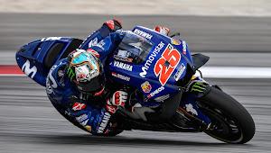 Hasil Tes Pra-musim MotoGP 2019 Valencia Hari Kedua : Vinales Tercepat