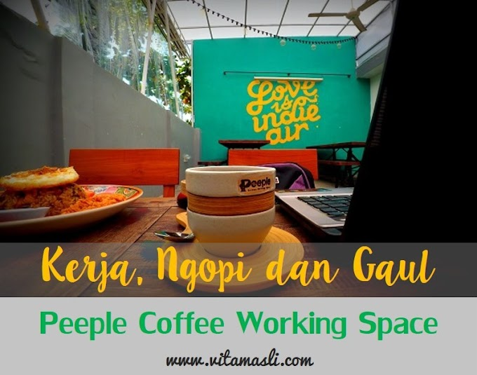Kerja, Ngopi dan Gaul di Peeple Coffee Working Space Makassar