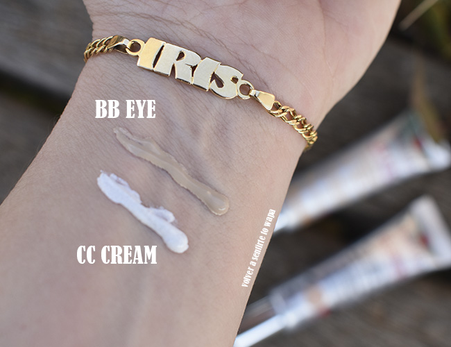 BB Eye y CC Crème Centella Asiática de Erborian