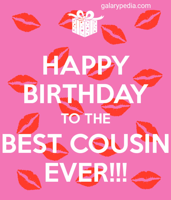 Cousin birthday images