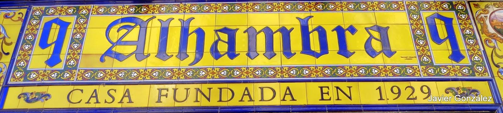 Calle de la Victoria, 9, azulejos Julián San Martín