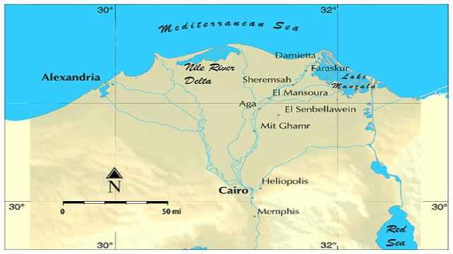 Ancient Egypt Nile delta