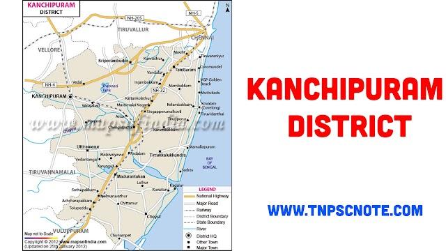 Kanchipuram District Information, Boundaries and History from Shankar IAS Academy