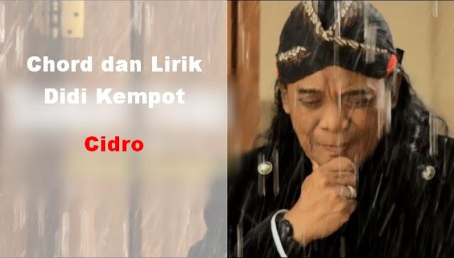 chord-didi-kempot-cidro