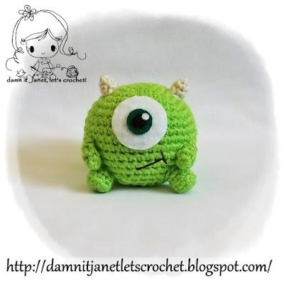 Sullivan Peluche Tejido A Mano Monsters Inc Amigurumi Croche ... | 400x400